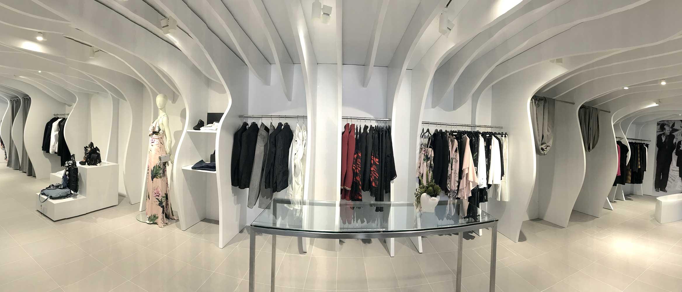Nuovo store tammetta hurra enne abbigliamento donna for Blog design arredamento